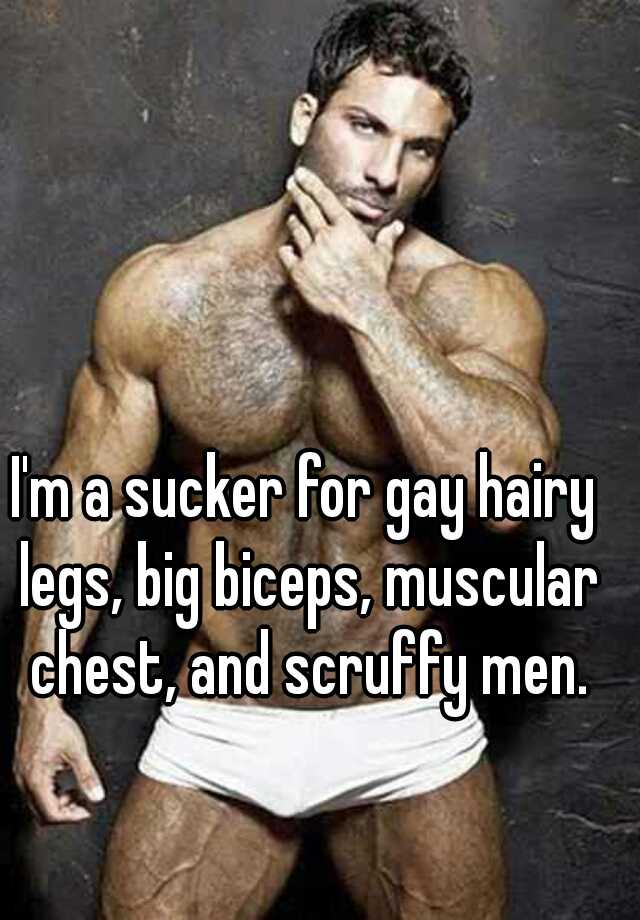 Gay hairy men big