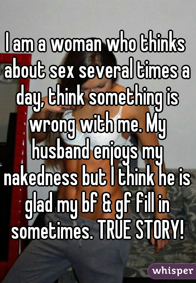 Sex several times a day