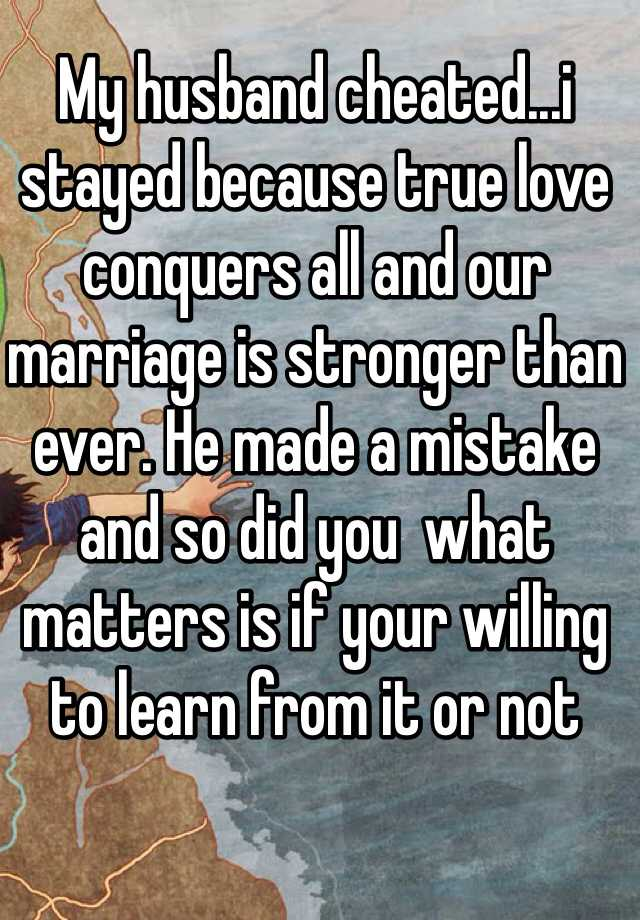 true love conquers all