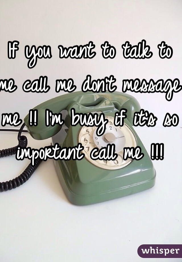 ASK OTHERS TO CALL YOU