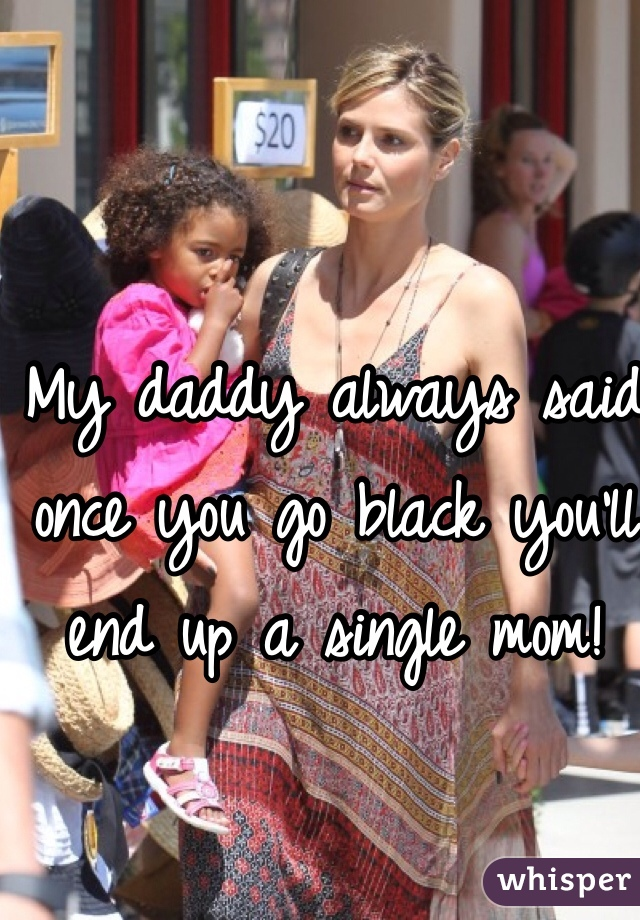 mom black My go