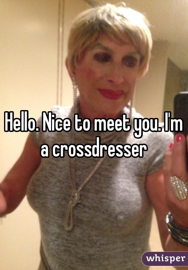 How to meet crossdressers
