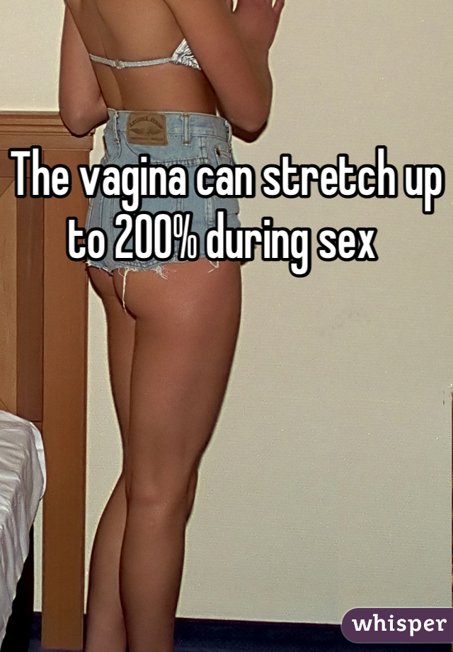 Does sex stretch the vagina