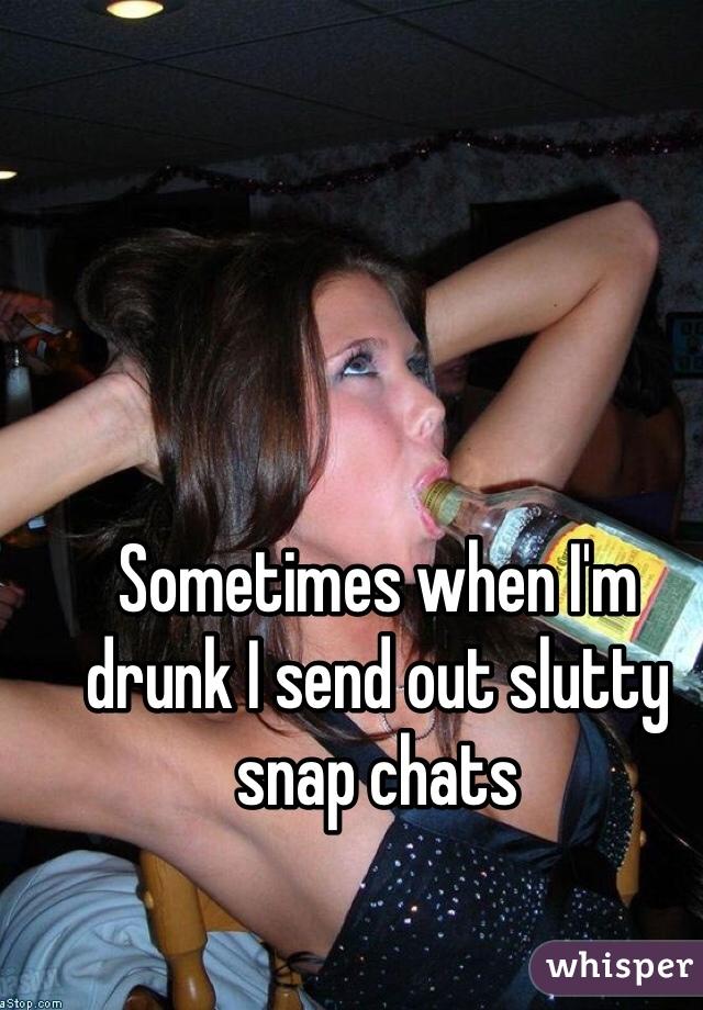 Slutty snap chats