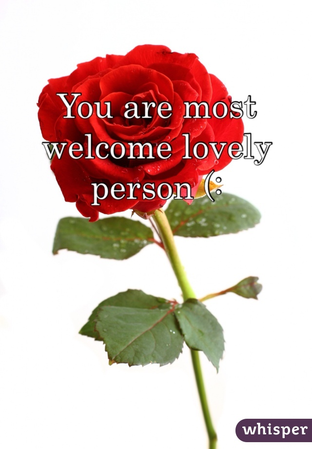 how to be a lovely person