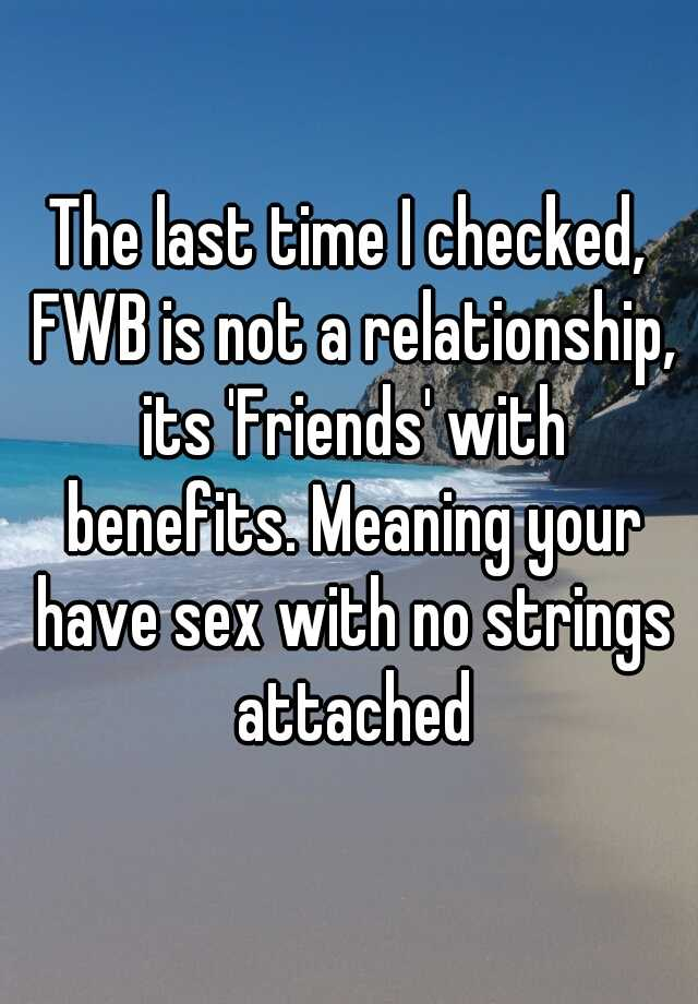 no strings attached meaning