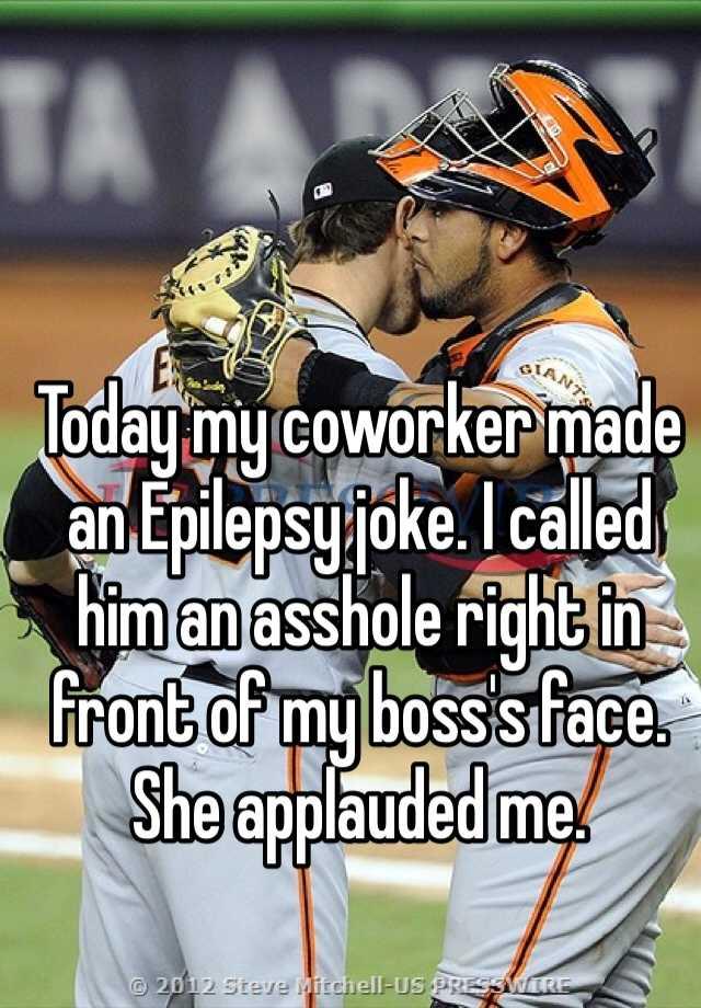 Boss joke asshole