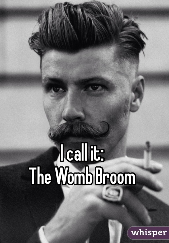 What is a womb broom