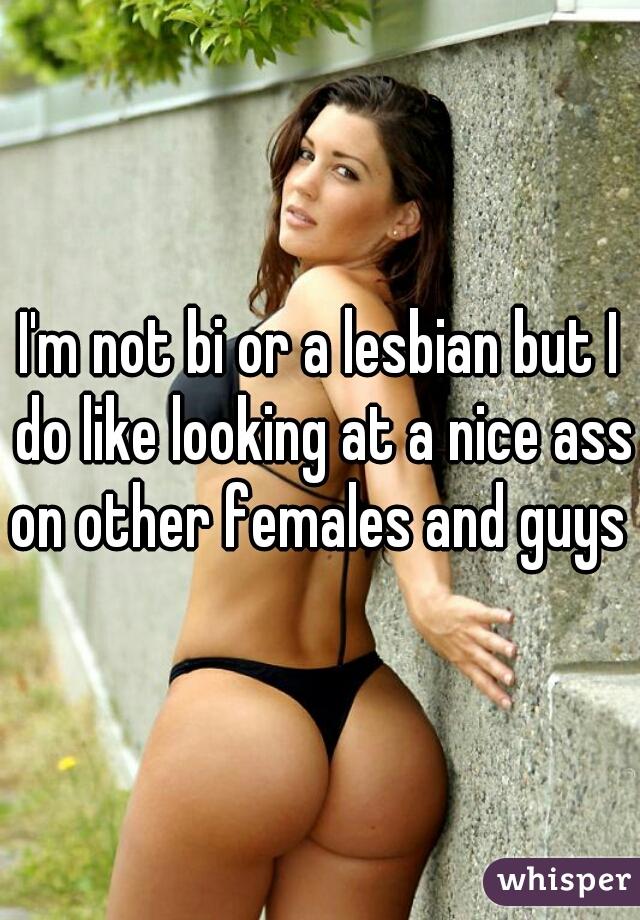 Ass lesbian nice