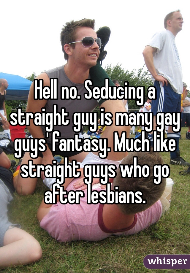 Straight guys go gay
