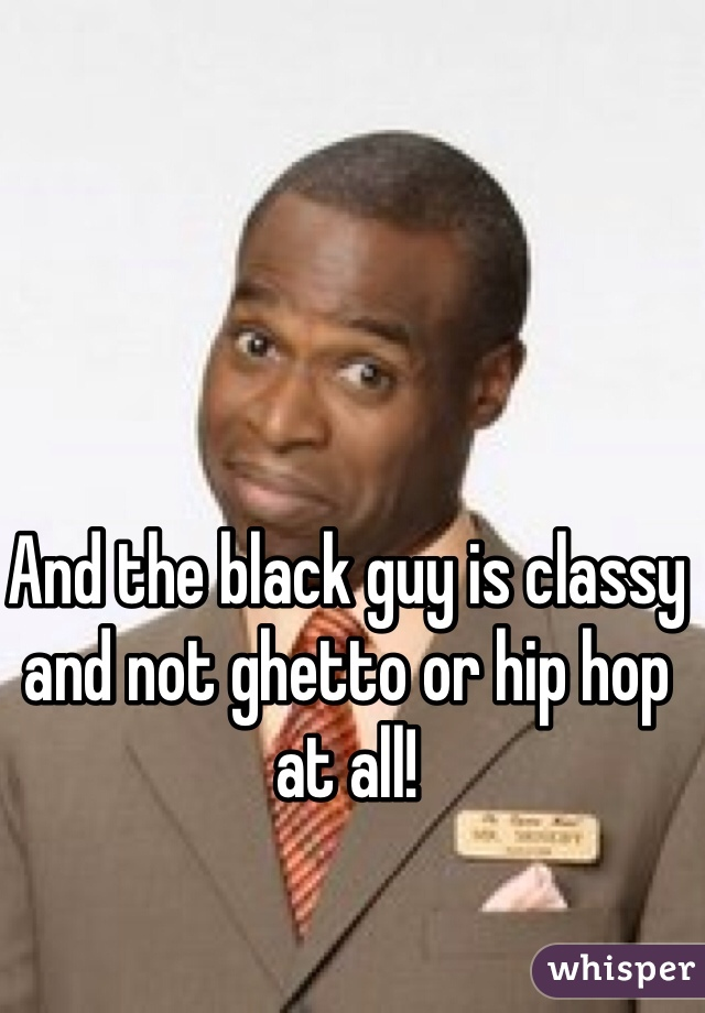 Ghetto black guy