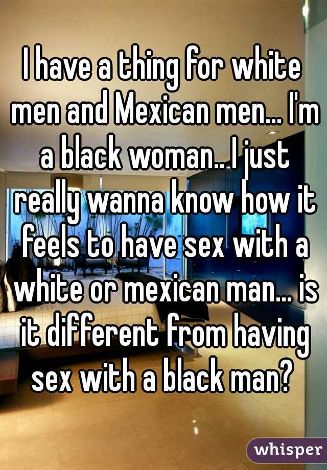 Mexican man black woman