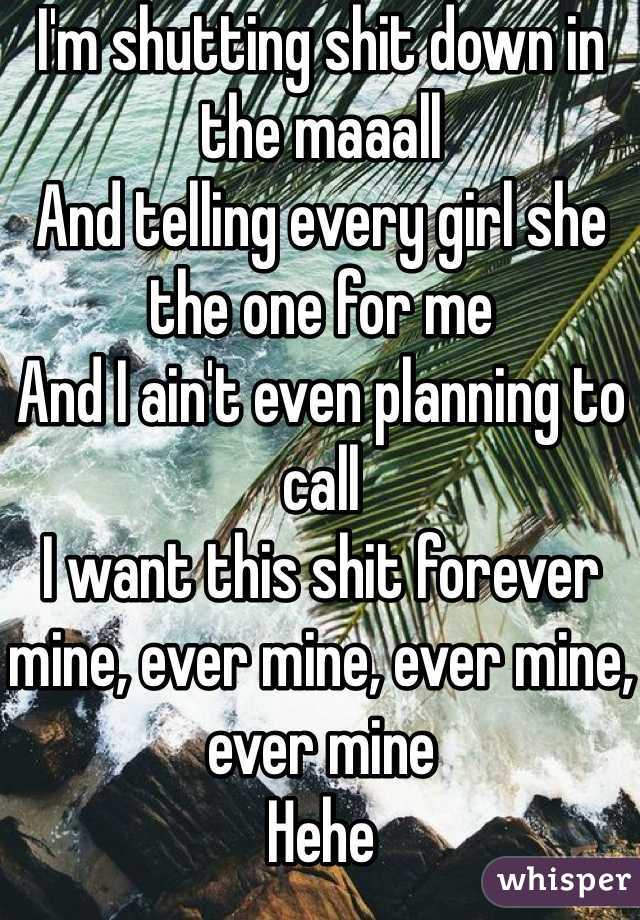 Girl Im The Shit