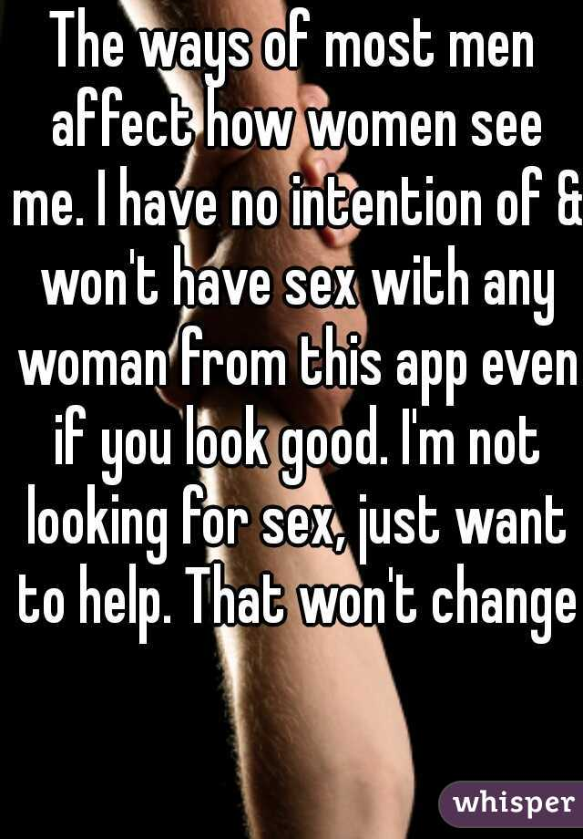 Women who wont have sex