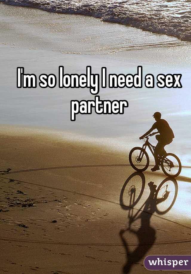 Need a sex partner