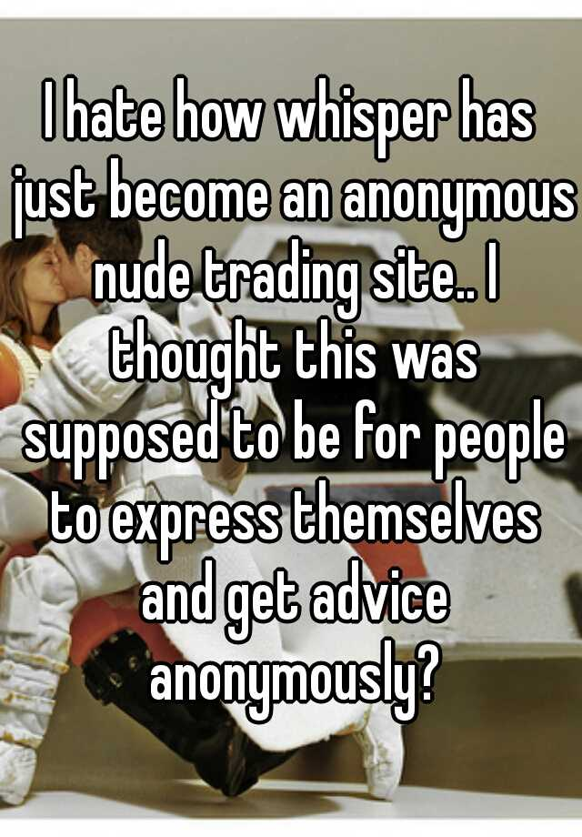 Nude trading site