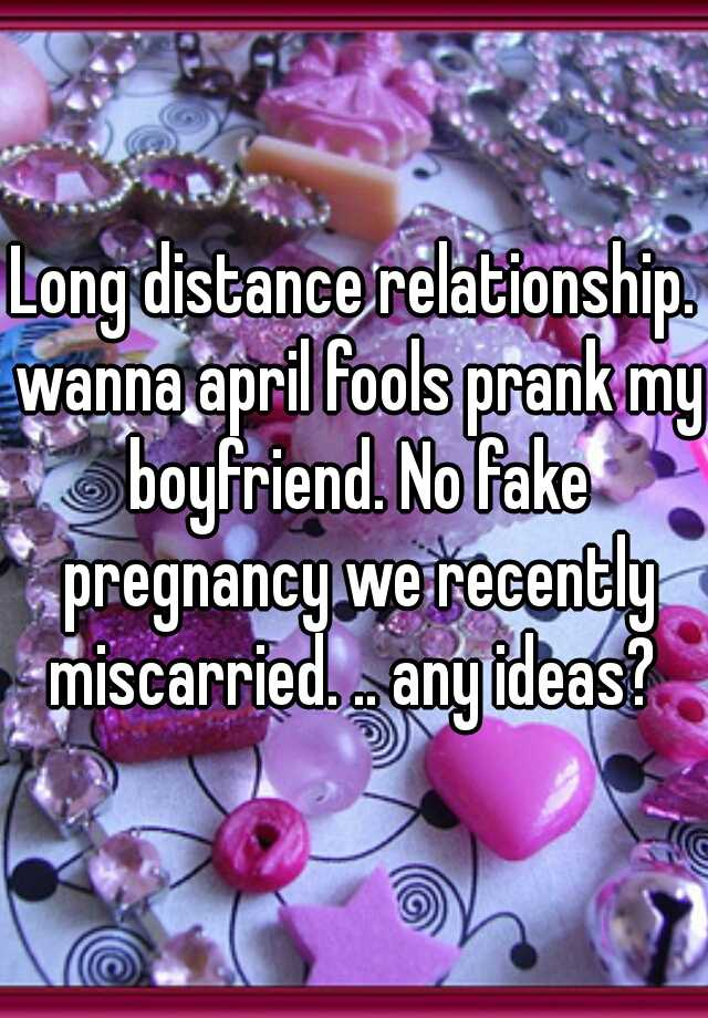 April fools for my boyfriend