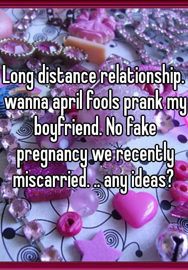 April fools for my boyfriend