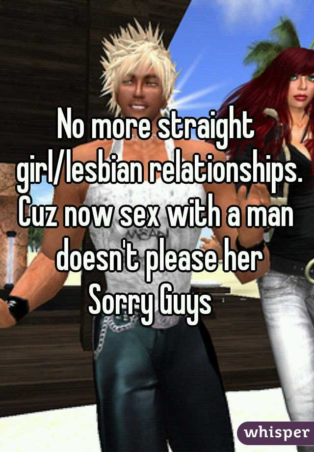 straight sex with a lesbian