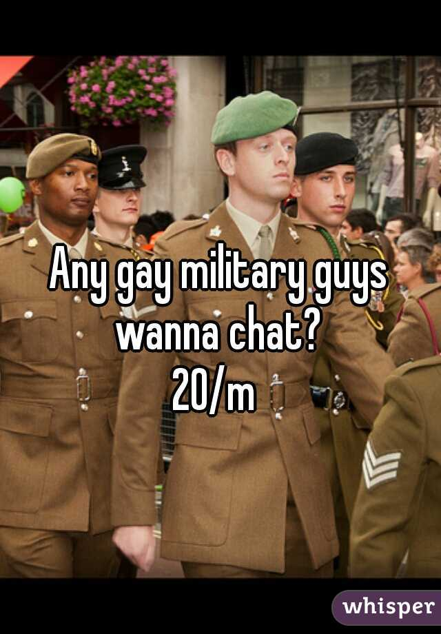 Chat gay military