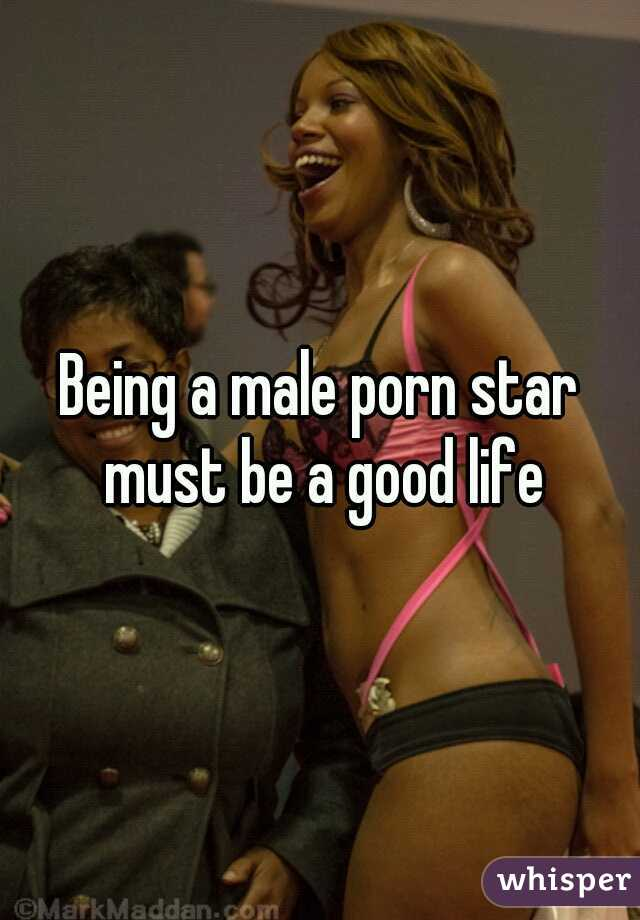 Being a male porn star must be a good life