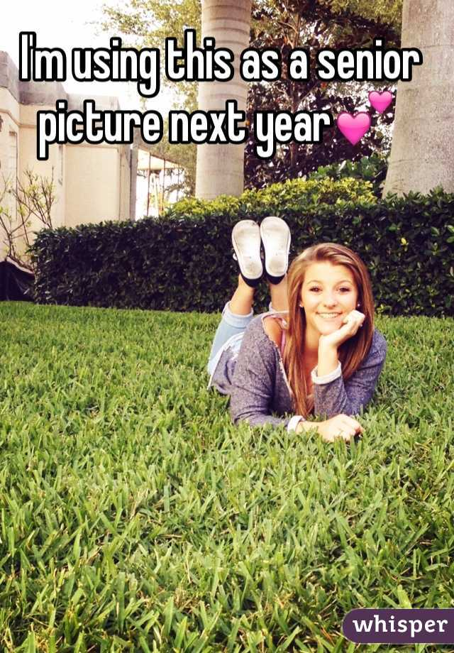 I'm using this as a senior picture next year💕