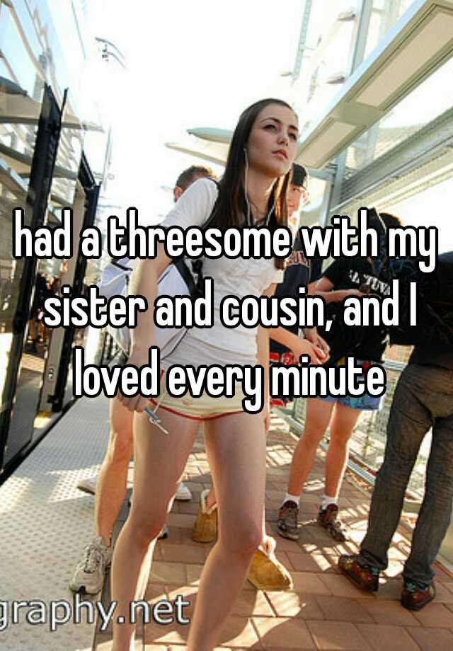 Cousin threesome