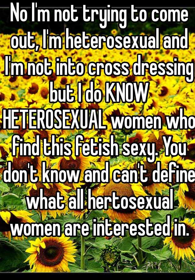 Definition of heterosexual woman in gold