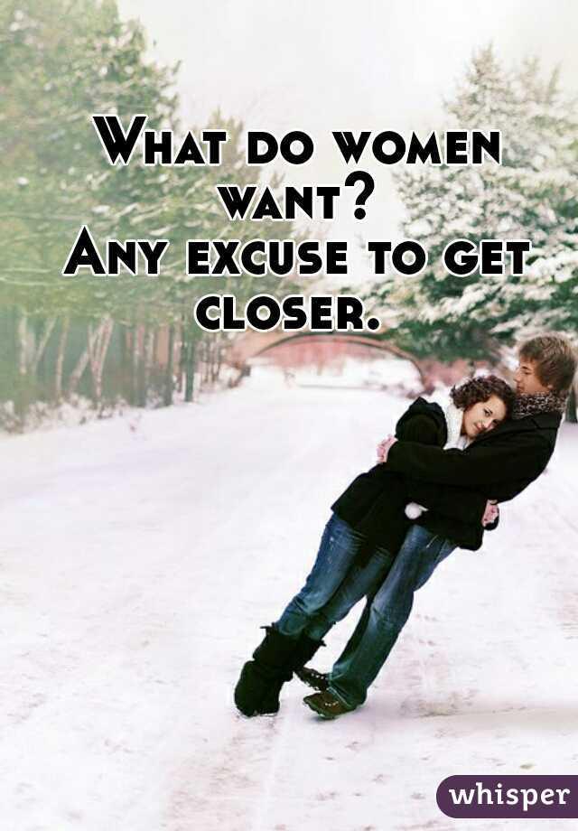 what do women like to do