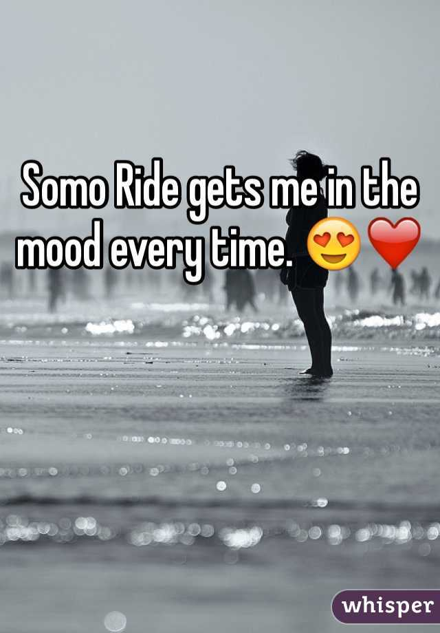 Somo Ride gets me in the mood every time. 😍❤️