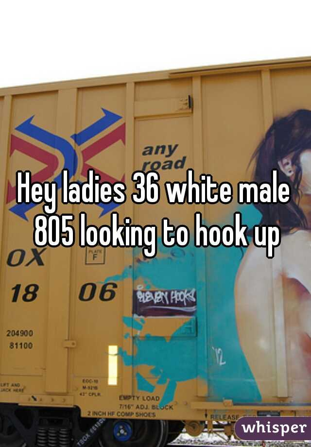 Hey ladies 36 white male 805 looking to hook up