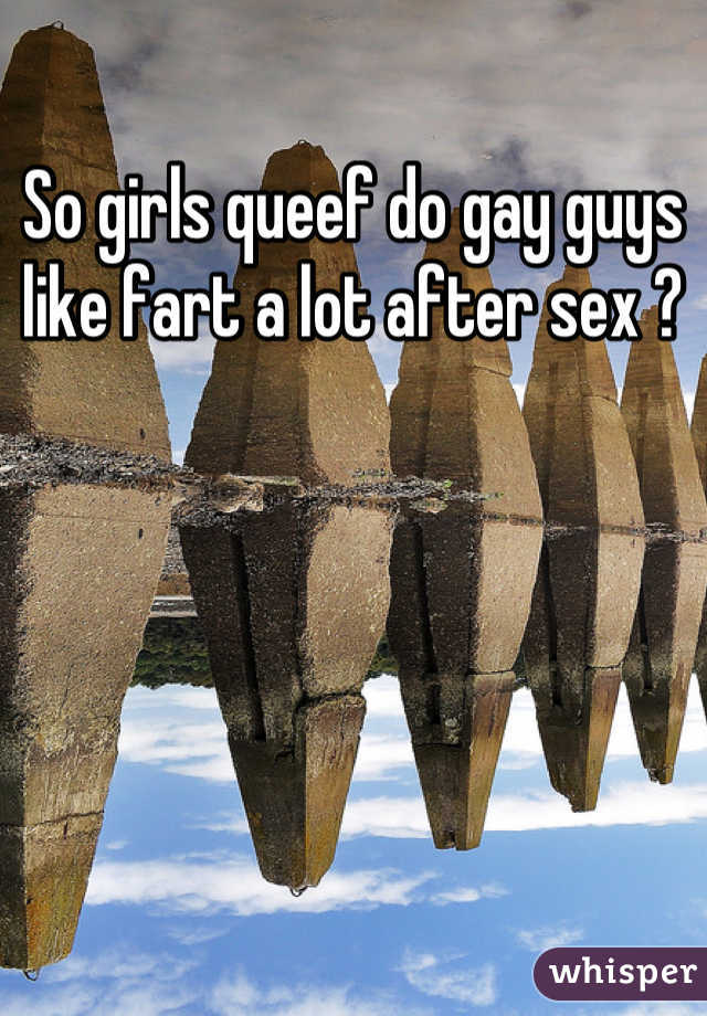 Is it normal to queef after sex