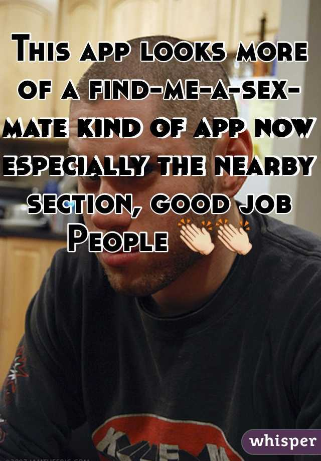 Nearby sex app