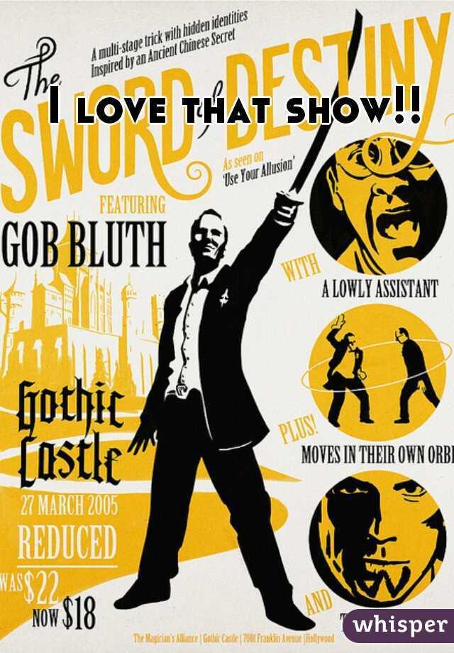 I love that show!!
