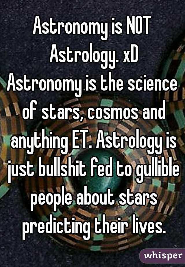astrology is not bullshit