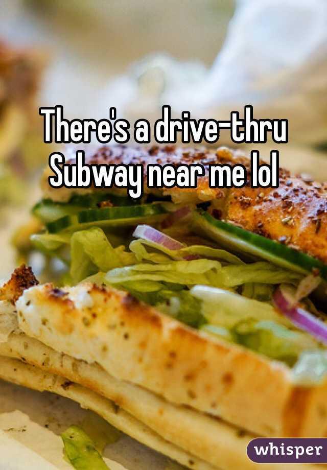 drive thru near me
