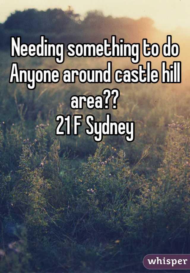 Needing something to do  Anyone around castle hill area?? 21 F Sydney