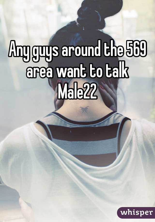 Any guys around the 569 area want to talk  Male22
