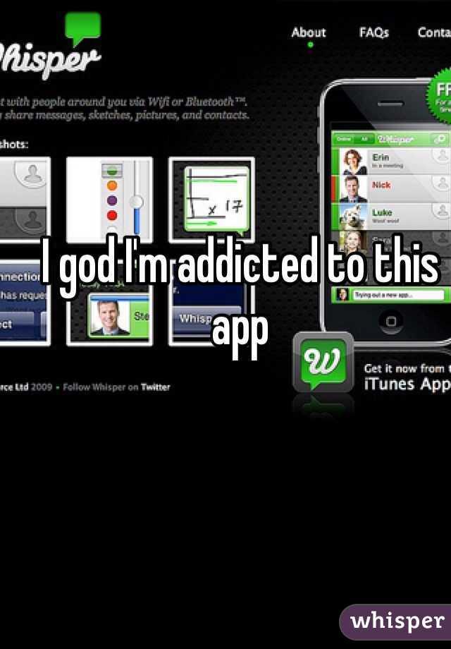 I god I'm addicted to this app