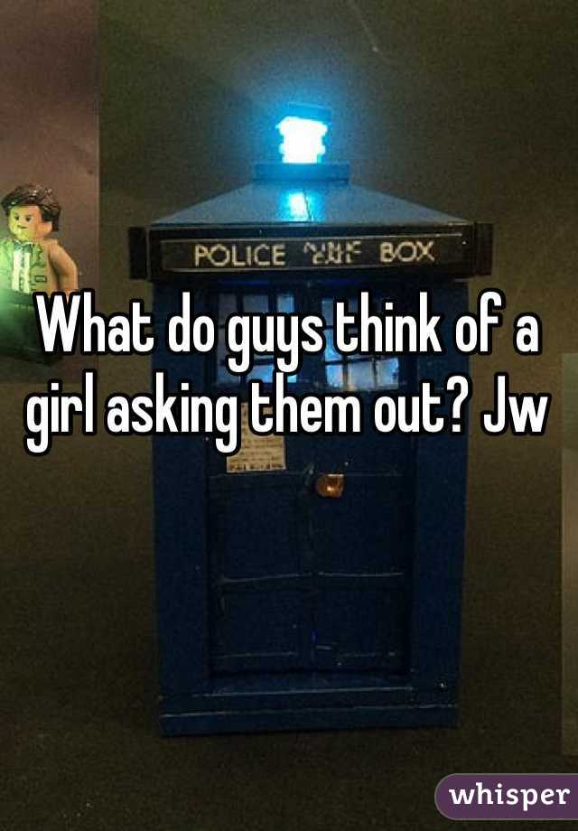 What do guys think of a girl asking them out? Jw