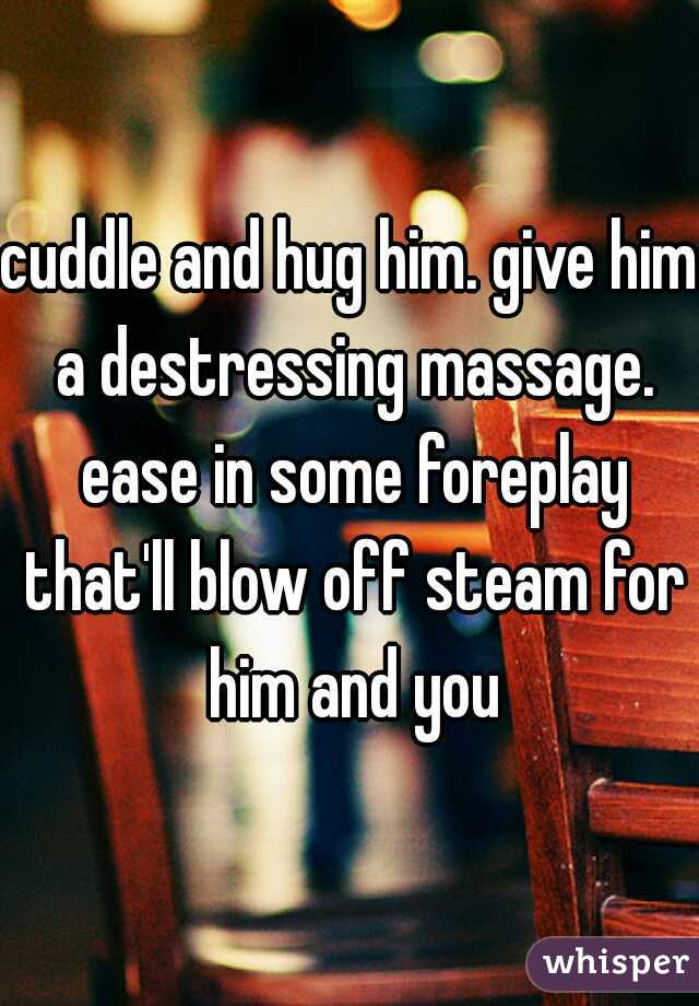foreplay with him