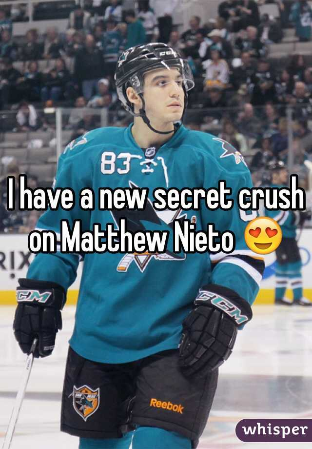 I have a new secret crush on Matthew Nieto 😍