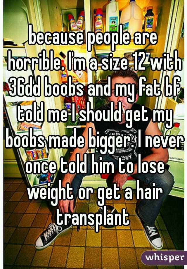 boyfriend told me to lose weight