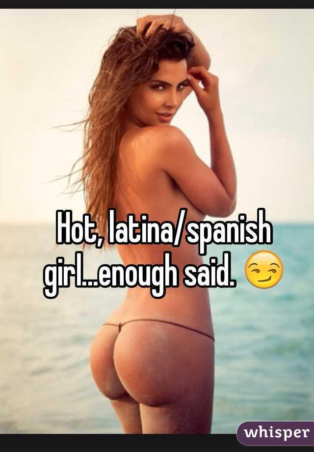 latina naked Whisper girl