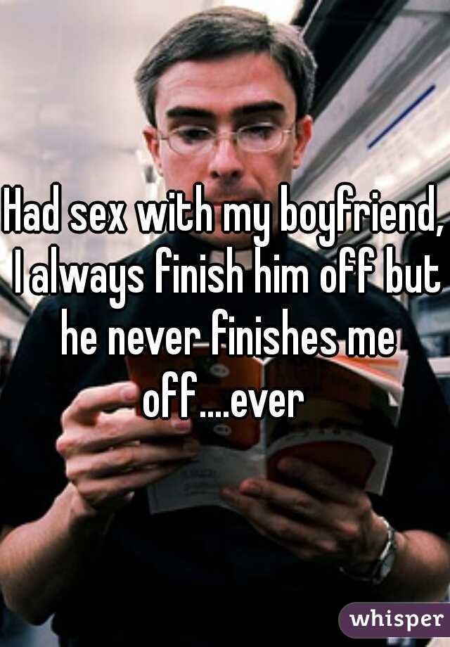 Finish him off