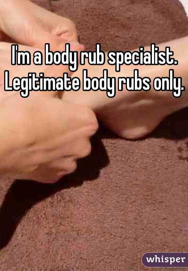 Adult body rub