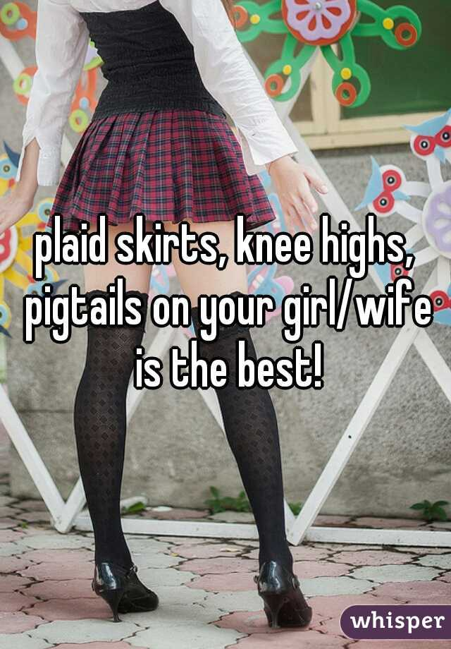 Share Thigh his and pigtails for