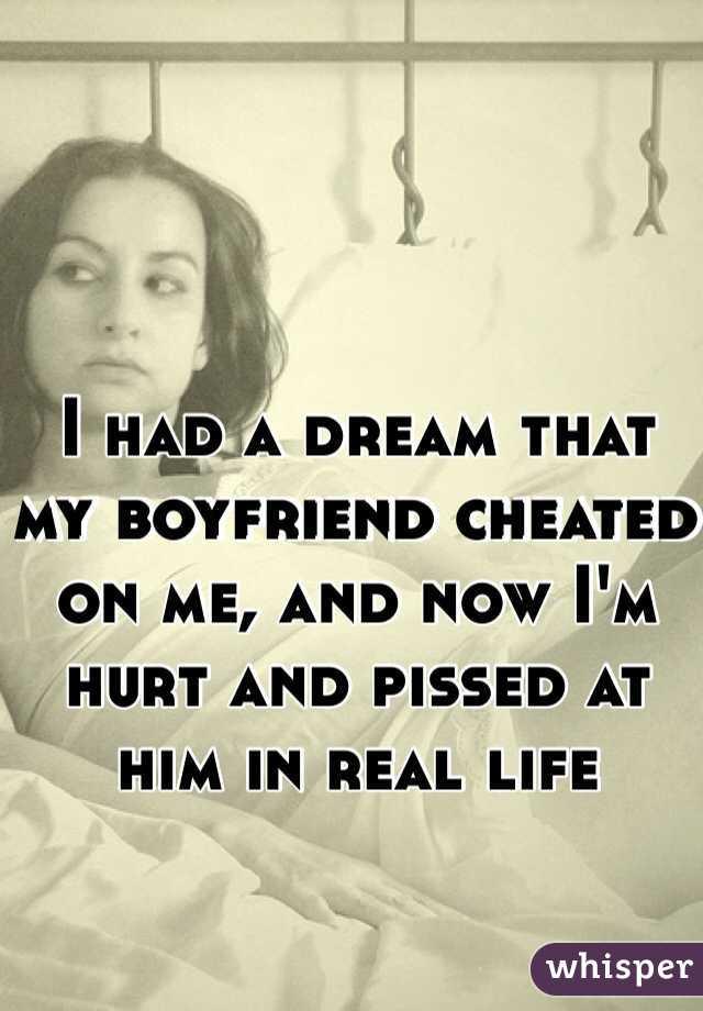 dreaming of my boyfriend