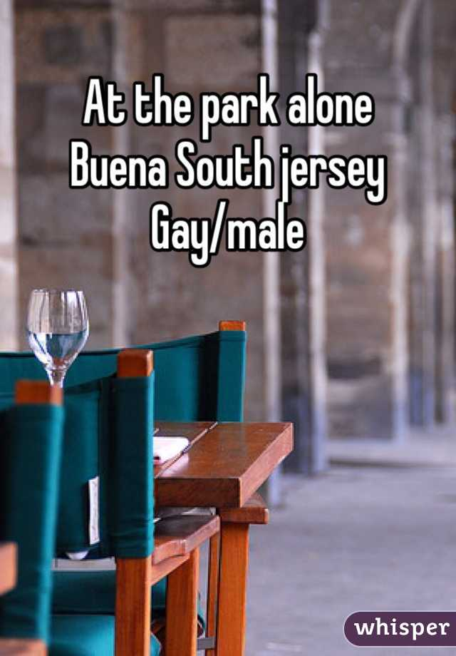 At the park alone  Buena South jersey  Gay/male