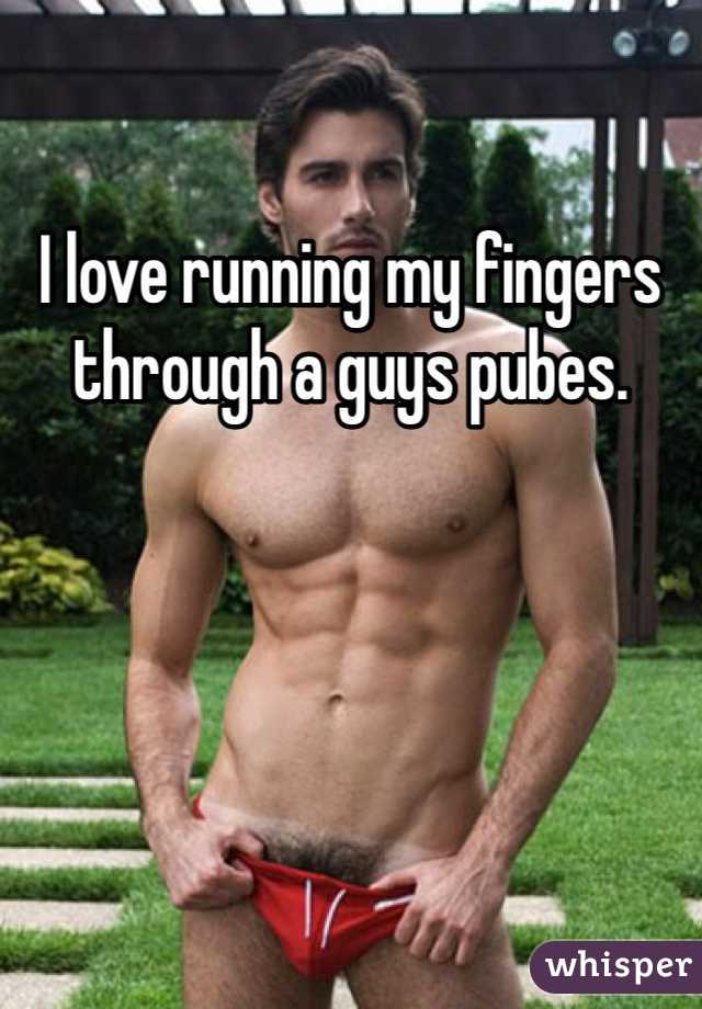Guys showing pubes